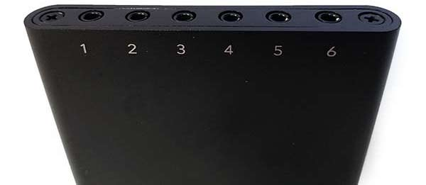 Nimble has 6 audio inputs