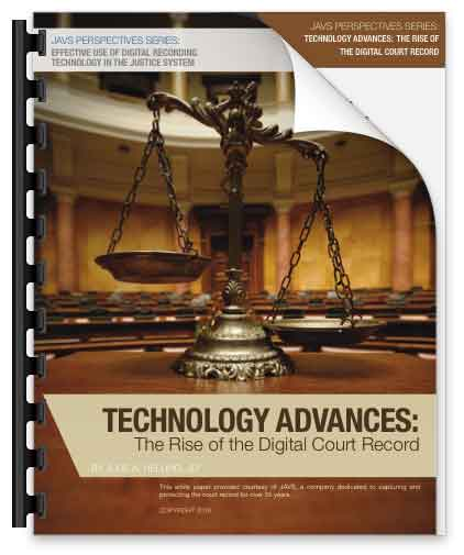 Digital Court Recording Advances